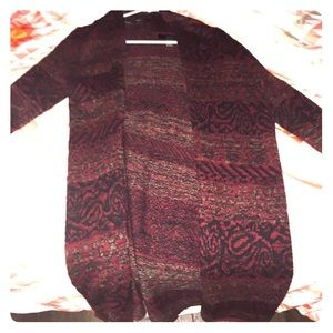 Forever 21 long sleeve wool kimono